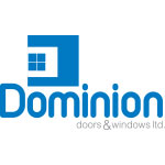 dominion door and window logo