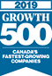 2019 Growth 500 Canada's Fastest Growing Companies Award