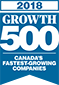 2018 Growth 500 Canada's Fastest Growing Companies Award