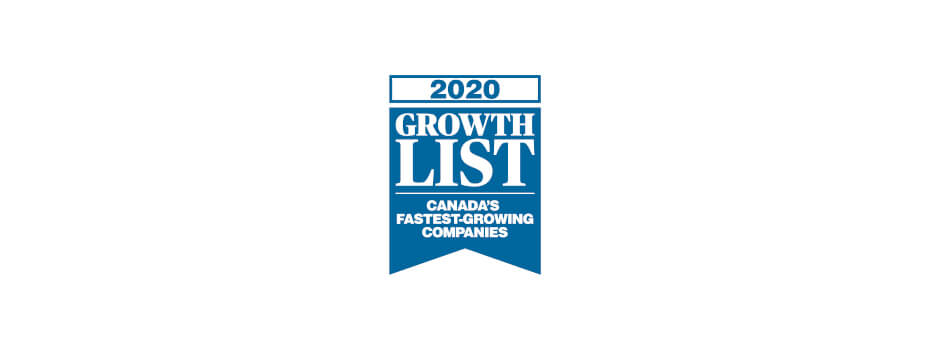 Growth List Award Logo