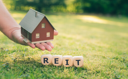 REIT Investing Stock Image