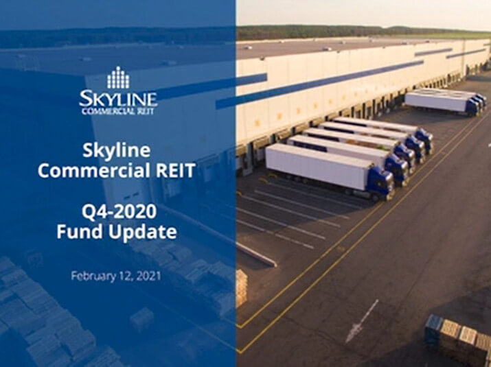 Skyline Commercial REIT - Q4 2020 Fund Update