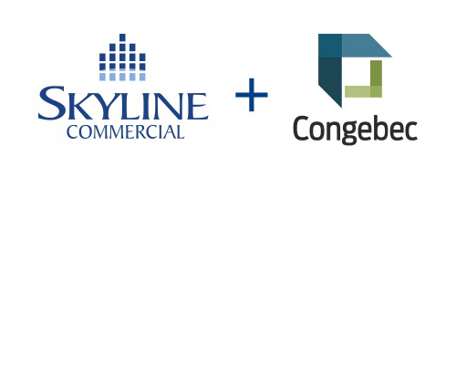 skyline commercial reit logo and congebec logo